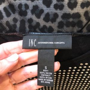 INC International Concepts Tops - Gorgeous INC tank with silver studding